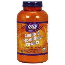 NOW Foods Amino 9 Essentials, Powder - 330 grams - Powerbody
